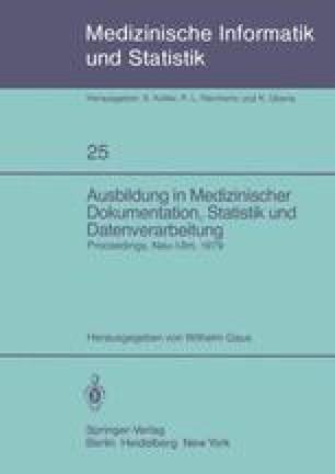 Ausbildung in Medizinischer Dokumentation, Statistik und Datenverarbeitung