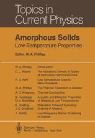 Amorphous Solids