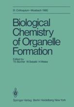 Biological Chemistry of Organelle Formation