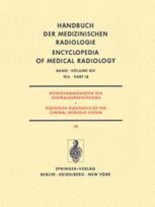 Röntgendiagnostik des Zentralnervensystems / Roentgen Diagnosis of the Central Nervous System