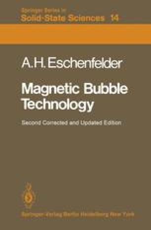 Magnetic Bubble Technology