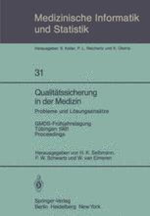 Qualitätssicherung in der Medizin, Probleme und Lösungsansätze