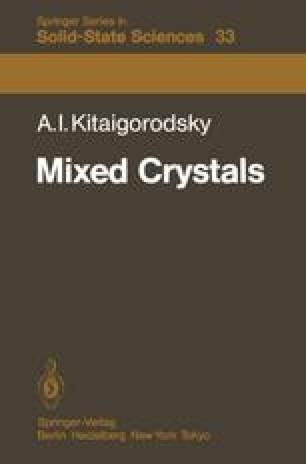 Mixed Crystals