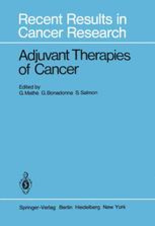 Adjuvant Therapies of Cancer