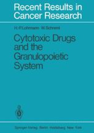 Cytotoxic Drugs and the Granulopoietic System