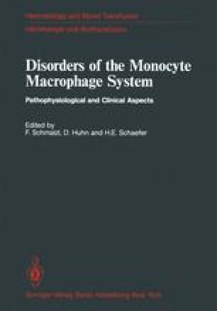 Disorders of the Monocyte Macrophage System