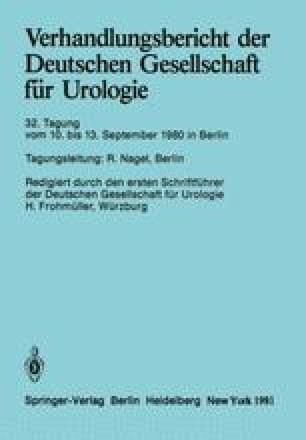 Verhandlungsbericht der Deutschen Gesellschaft für Urologie