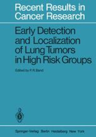 Early Detection and Localization of Lung Tumors in High Risk Groups