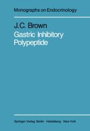 Gastric Inhibitory Polypeptide