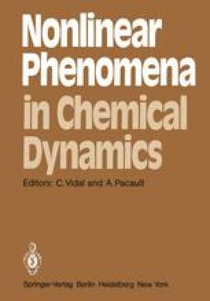 Nonlinear Phenomena in Chemical Dynamics