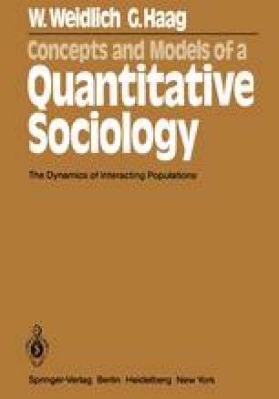 Concepts and Models of a Quantitative Sociology