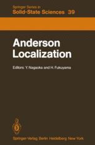 Anderson Localization