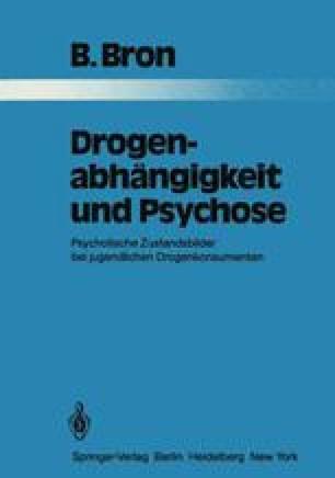 Drogenabhängigkeit und Psychose