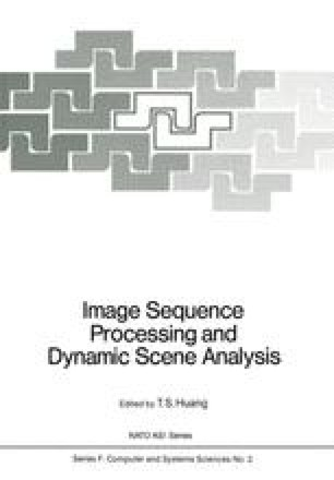 Image Sequence Processing and Dynamic Scene Analysis