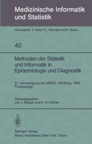 Methoden der Statistik und Informatik in Epidemiologie und Diagnostik