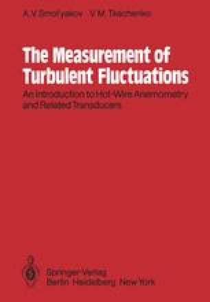 The Measurement of Turbulent Fluctuations