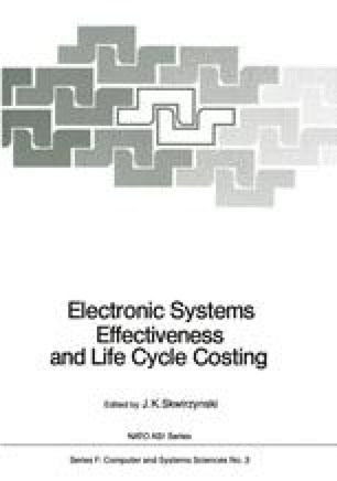 Electronic Systems Effectiveness and Life Cycle Costing