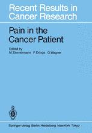 Pain in the Cancer Patient