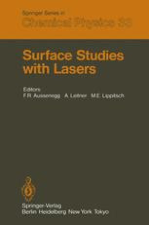 Surface Studies with Lasers