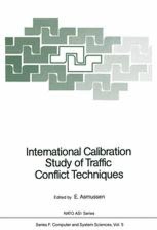 International Calibration Study of Traffic Conflict Techniques
