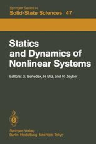 Statics and Dynamics of Nonlinear Systems