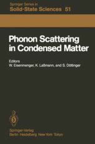 Phonon Scattering in Condensed Matter