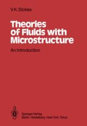 Theories of Fluids with Microstructure