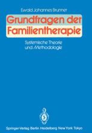Grundfragen der Familientherapie