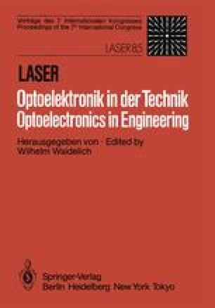 Laser/Optoelektronik in der Technik / Laser/Optoelectronics in Engineering