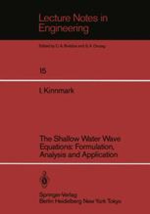 The Shallow Water Wave Equations: Formulation, Analysis and Application