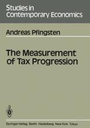 The Measurement of Tax Progression