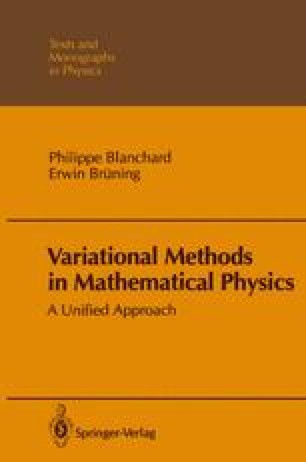 Variational Methods in Mathematical Physics