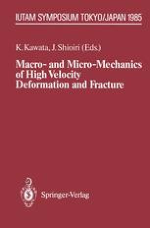 Macro- and Micro-Mechanics of High Velocity Deformation and Fracture