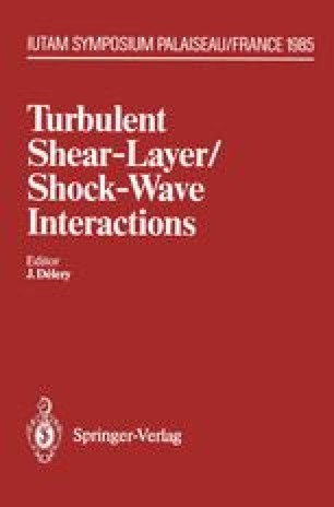 Turbulent Shear-Layer/Shock-Wave Interactions