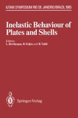 Inelastic Behaviour of Plates and Shells