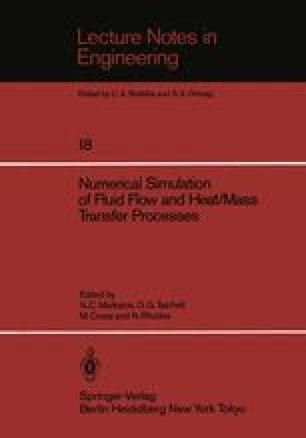 Numerical Simulation of Fluid Flow and Heat/Mass Transfer Processes