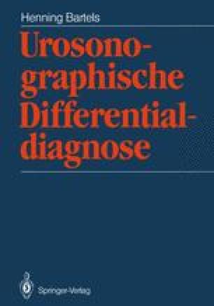 Urosonographische Differentialdiagnose