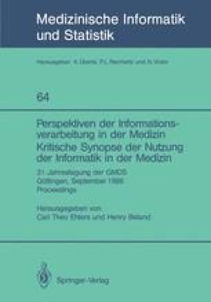 Perspektiven der Informationsverarbeitung in der Medizin Kritische Synopse der Nutzung der Informatik in der Medizin