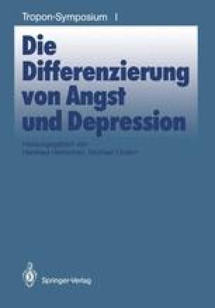 Die Differenzierung von Angst und Depression