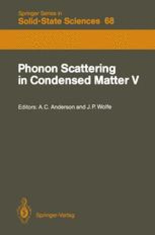Phonon Scattering in Condensed Matter V