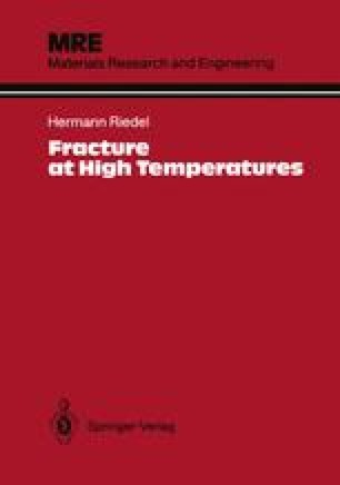 Fracture at High Temperatures