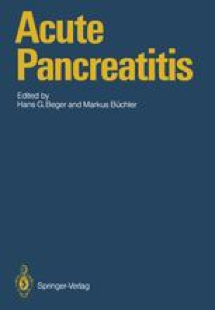 Acute Pancreatitis