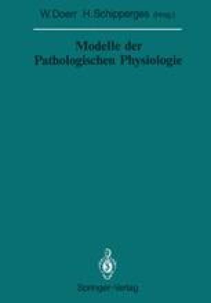 Modelle der Pathologischen Physiologie