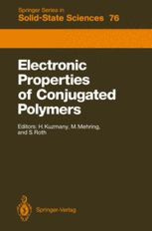 Electronic Properties of Conjugated Polymers