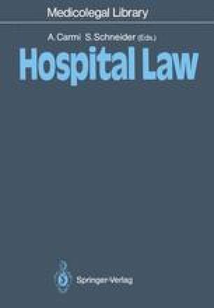 Hospital Law