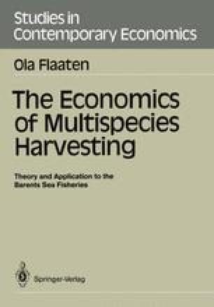 The Economics of Multispecies Harvesting