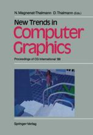 New Trends in Computer Graphics