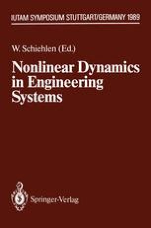 Nonlinear Dynamics in Engineering Systems