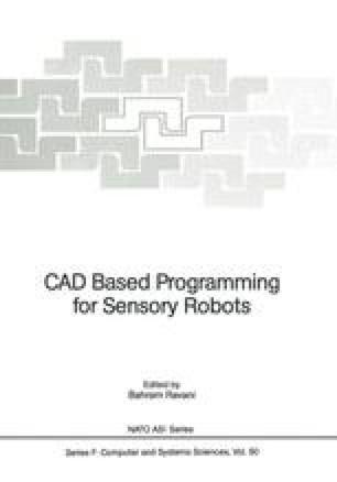 CAD Based Programming for Sensory Robots