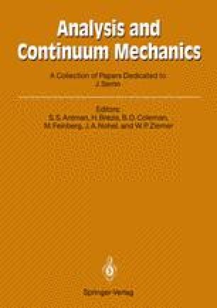 Analysis and Continuum Mechanics
